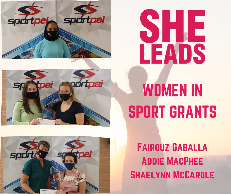 Women in Sport Grant recipients FB