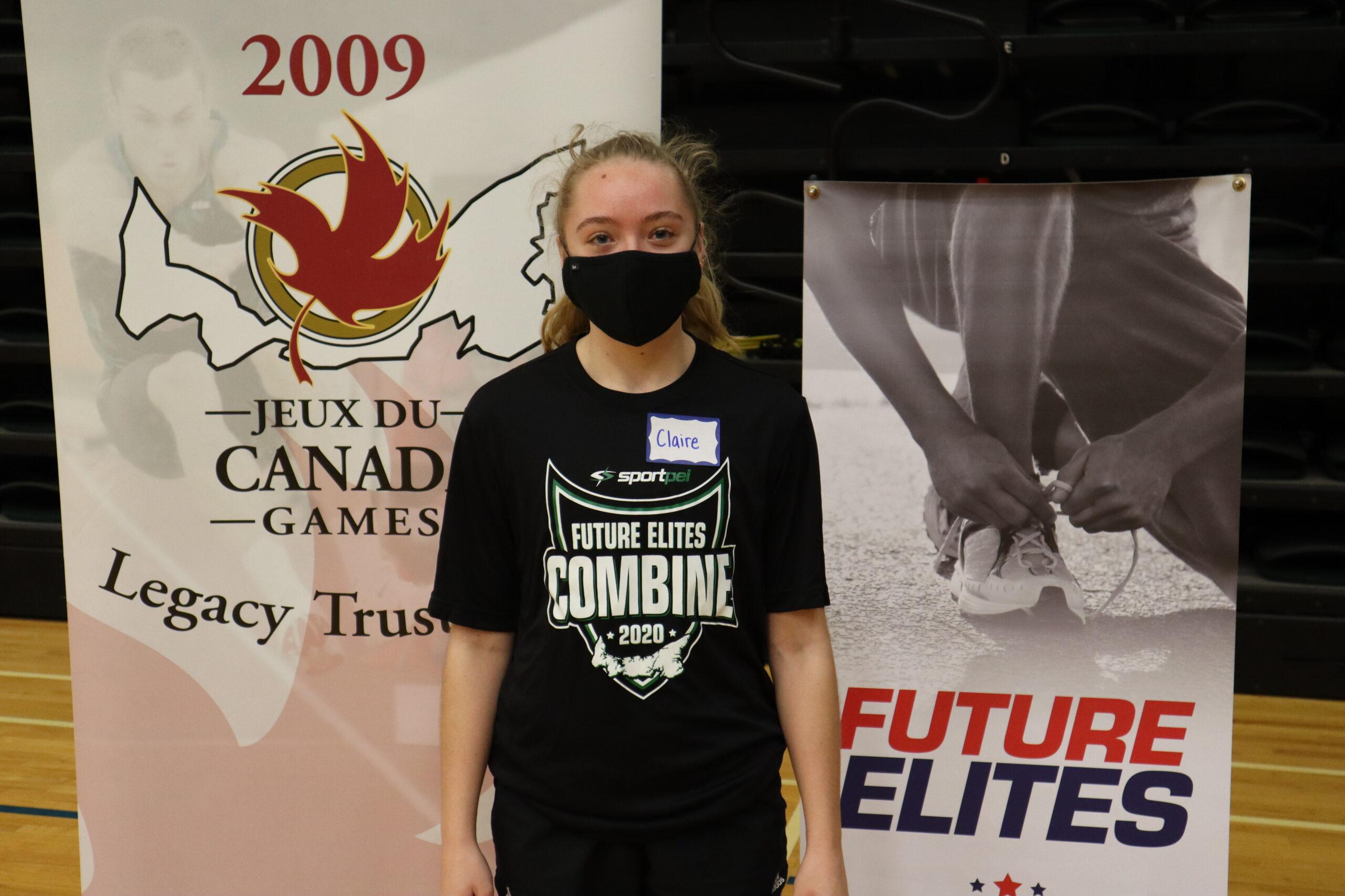 Claire Davis mask